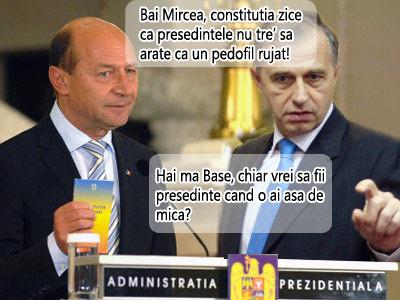 Basescu versus Geoana